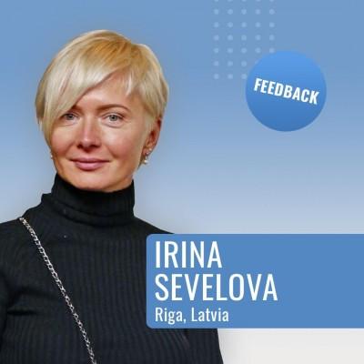 Feedback IRINA SEVELOVA